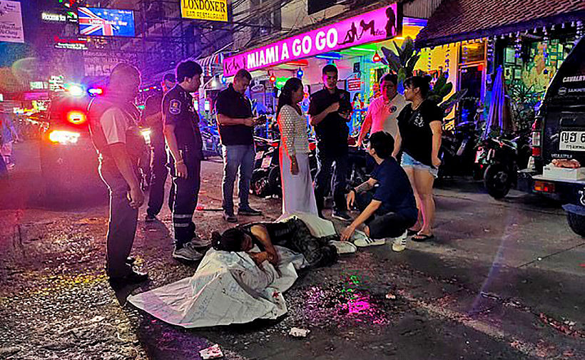 50 year old British man dies at scene after fireworks explosion in Pattaya | The Thaiger