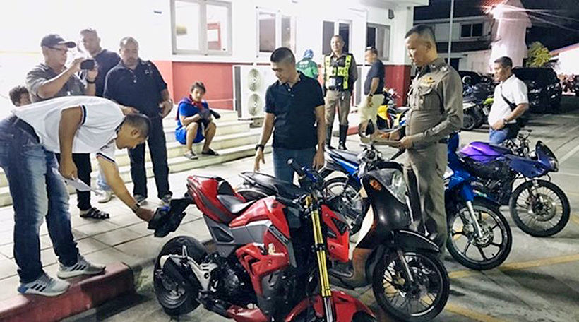 Two motorbike thieves nabbed in Phuket   News by Thaiger