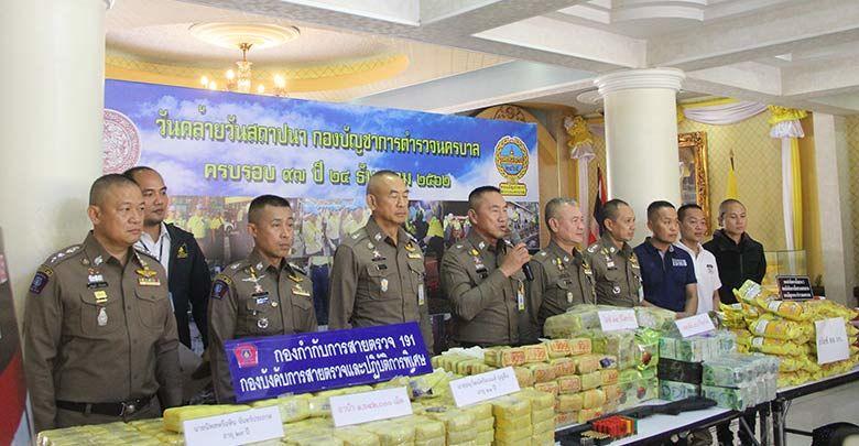 Large Bangkok drug haul – meth pills, crystal meth and Ketamine
