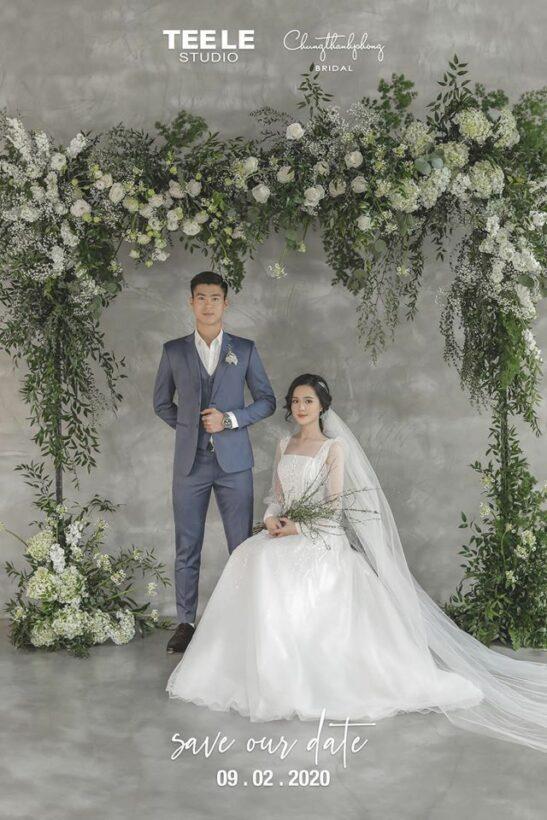 Trung vệ Duy Mạnh chính thức công bố ngày kết hôn | News by Thaiger