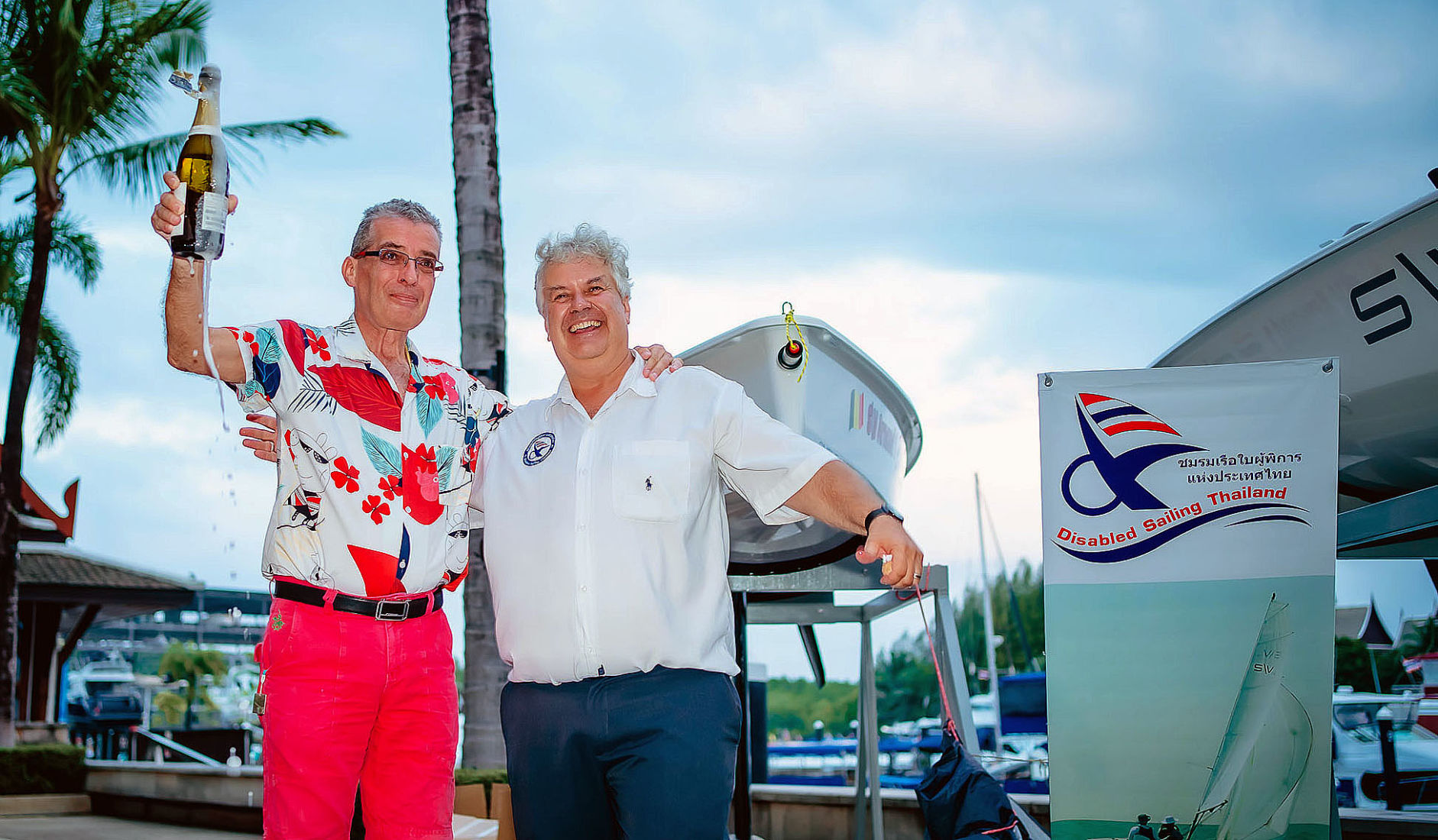 Two new SV 14 boats donated to Disabled Sailing Thailand in Phuket   Thaiger
