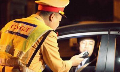 6.300 tài xế bị xử phạt vi phạm nồng độ cồn | Thaiger