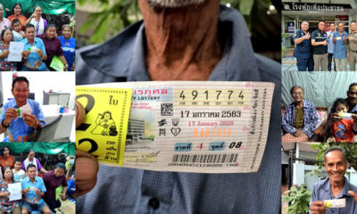 30 million in lottery windfall to central Thailand winning tickets | Thaiger