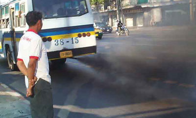50% of Thai trucks checked in Don Mueang belching black smoke | The Thaiger
