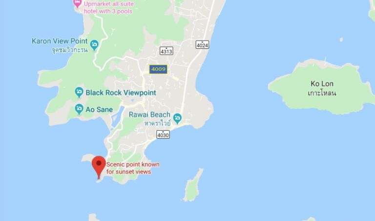 Hackers moved the Google location for Phuket's popular Promthep Cape   News by Thaiger