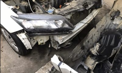 Thai woman's car trashed in Sattahip by stray dogs chasing a cat | Thaiger