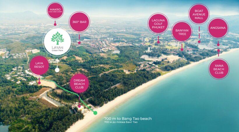 Three massive condo developments along Phuket's up-market Layan Beach   News by Thaiger