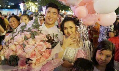 Trung vệ Duy Mạnh chính thức công bố ngày kết hôn | The Thaiger