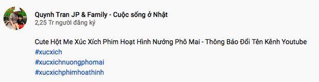 Quỳnh Trần JP phải đổi tên channel Youtube vì bé Sa   News by Thaiger
