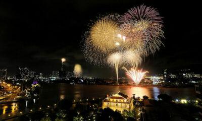 Các điểm bắn pháo hoa tại Hà Nội, TP. HCM và nhiều tỉnh thành vào đêm Giao thừa Tết Canh Tý 2020 | The Thaiger
