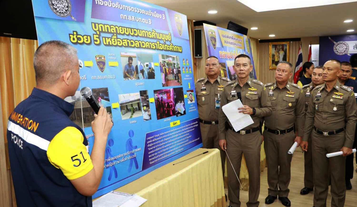 Three busted for human trafficking Lao minors | The Thaiger