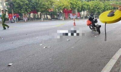 Hải Phòng: Cô gái bị xe khách cán tử vong vào 30 Tết | The Thaiger