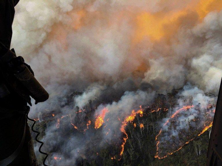 Khói bụi từ cháy rừng Australia bay sang Brazil | News by Thaiger