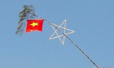 Hà Tĩnh: Tổ trưởng khu phố ngã tử vong khi đang trèo thang treo cờ | The Thaiger
