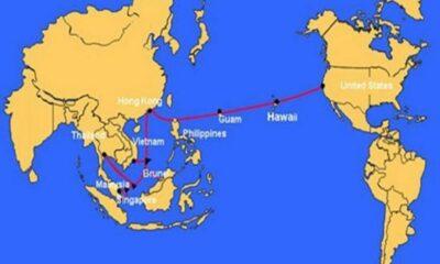 Tuyến cáp quang biển AAG sẽ được hoàn thành sửa chữa trước Tết nguyên đán 2020 | The Thaiger