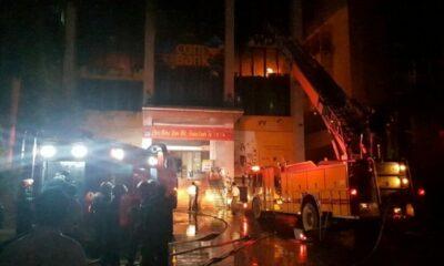 Thanh Hóa: Tòa nhà dầu khí bùng cháy lớn, một người tử vong   The Thaiger