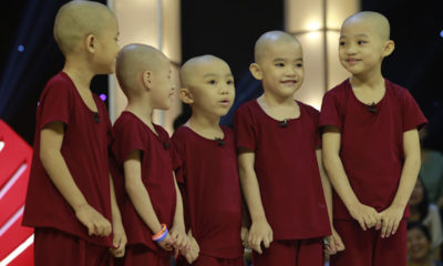 5 chú tiểu Bồng Lai trở lại Thách thức danh hài ẵm luôn 150 triệu đồng | Thaiger