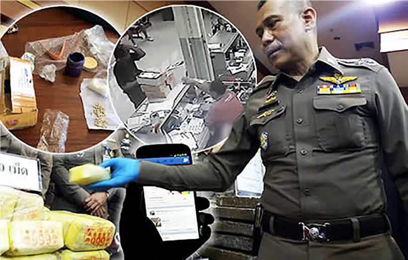 Young men busted selling drugs online in Phuket, Phang Nga from their Twitter account | News by Thaiger