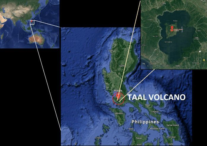 8,000 evacuated from menacing Taal volcano, south of Manila, Philippines | News by Thaiger