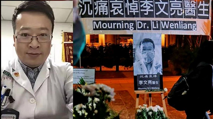 Dr Li Wenliang, the face of the Wuhan Coronavirus, and failed censorship | Thaiger