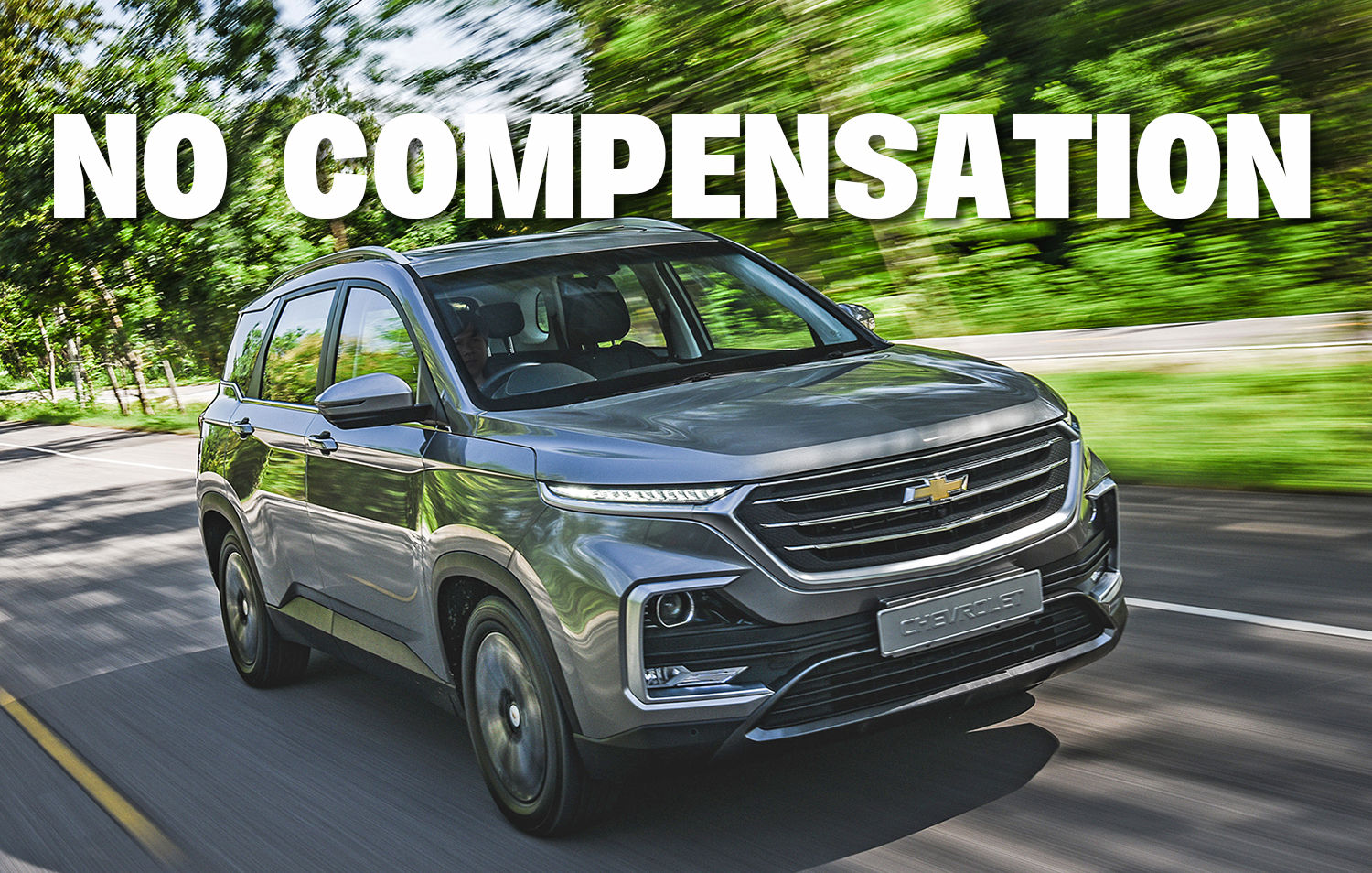 Chevrolet Thailand says 'no' to compensation demands for cars sold before discounts were announced | The Thaiger