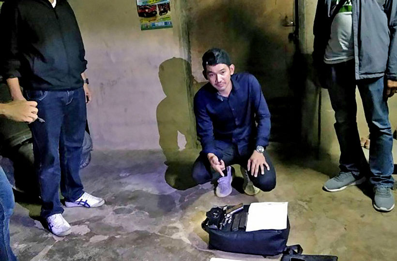 Bangkok gunman arrested this morning in Phetchaburi | The Thaiger