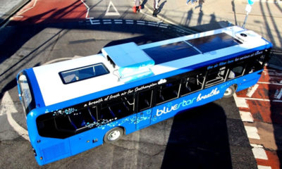 Air purifiers to be added to the top of Bangkok buses. Really… | The Thaiger