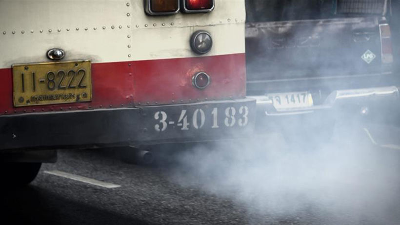 Air purifiers to be added to the top of Bangkok buses. Really... | News by Thaiger