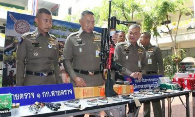 Bangkok cops bust online gun dealers   The Thaiger