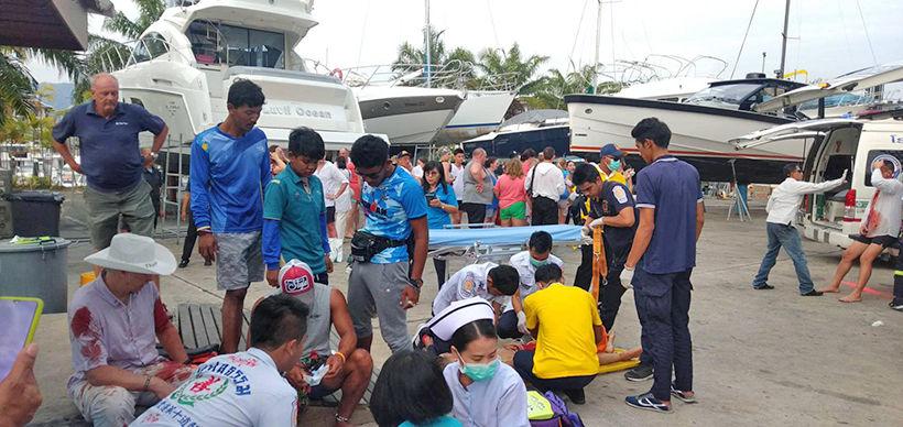 UPDATE: Phuket speedboats crash: 2 children dead, 22 injured - VIDEO | News by Thaiger