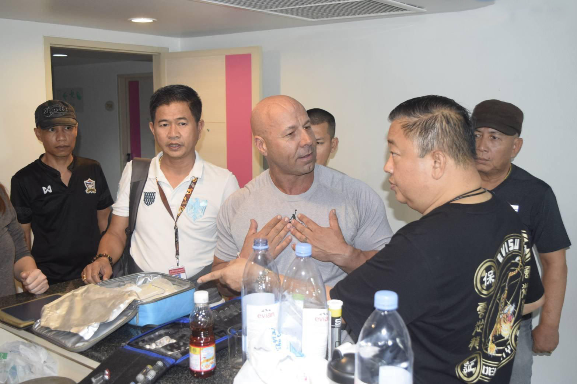 Australian bodybuilding champ arrested in Pattaya for illegal work, hormones | The Thaiger