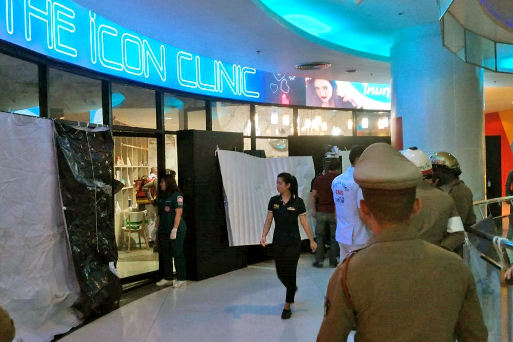Gunman allegedly shoots and kills ex-wife at mall in Bangkok, another injured | Thaiger