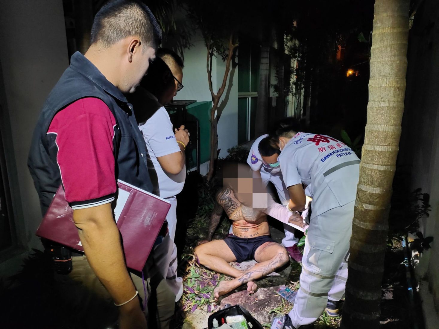 German man dead after jumping from Pattaya condo, refusing medical assistance | News by Thaiger