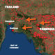 Cambodia burns, Bangkok chokes, schools closed | The Thaiger