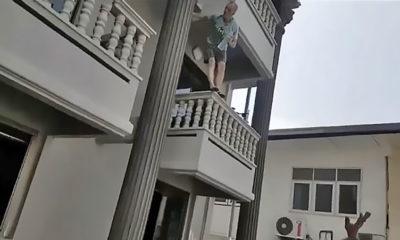German man saved from 2nd-floor jump in Pattaya | Thaiger