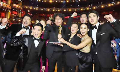 "South Korean thriller ""Parasite"" sweeps the Oscars 