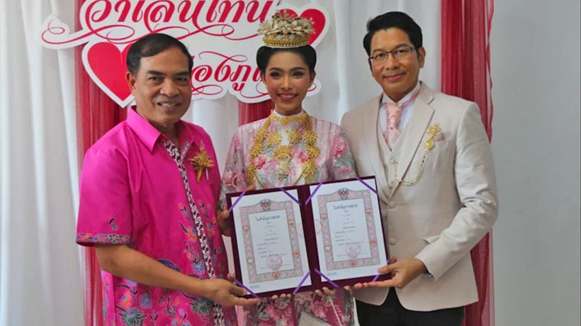 More than 200 couples exchange vows on Valentine's Day 2020 in Phuket | News by Thaiger
