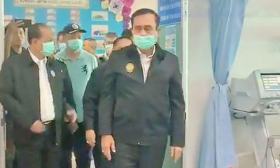 PM visits shooting victims in hospital as the nation mourns | The Thaiger
