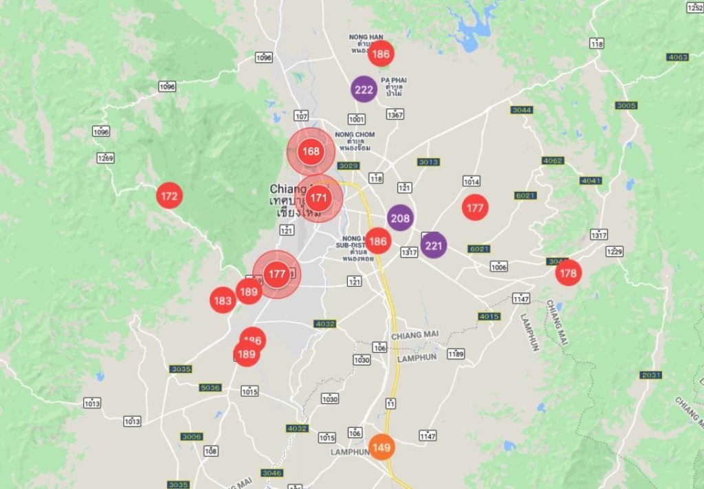 Chiang Mai blanketed in smoke as fires burn around the province | News by Thaiger