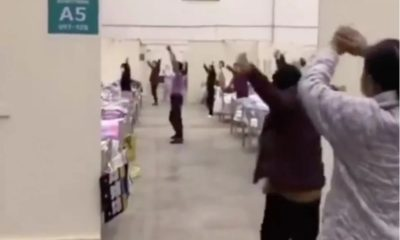 Medical staff dance with coronavirus patients in Wuhan – VIDEO | The Thaiger