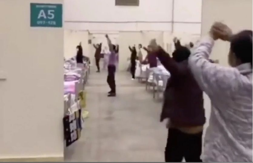 Medical staff dance with coronavirus patients in Wuhan – VIDEO   Thaiger