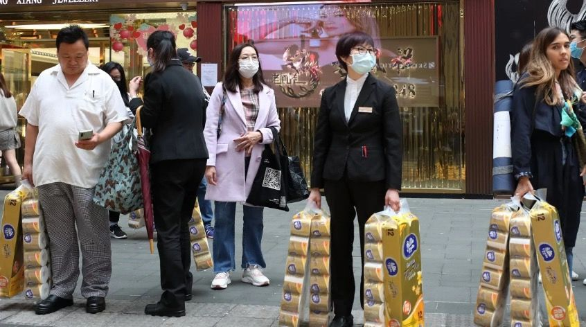 Hong Kong police on a roll as third suspect in toilet paper heist flushed out | Thaiger