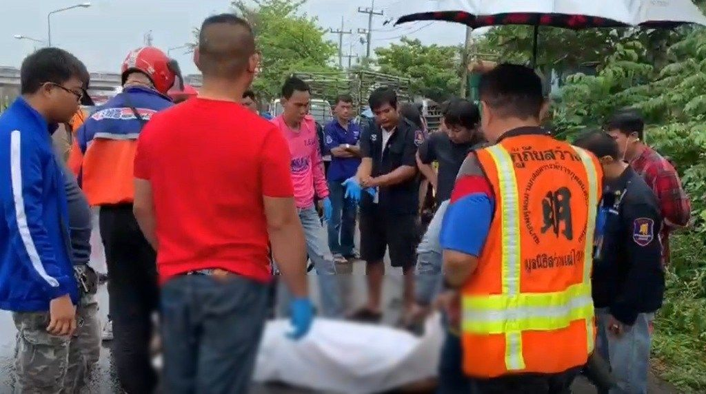 Rescue worker struck and killed at accident scene | Thaiger