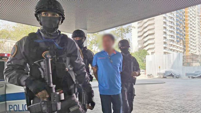 Suspects in abduction, murder of judge's brother taken for re-enactment | Thaiger