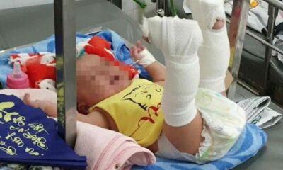 TP. HCM: Bắt người cha bạo hành con 4 tháng tuổi | The Thaiger