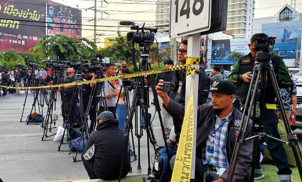 """Thai media under fire for disobeying orders to """"tone down"""" Korat massacre coverage   News by Thaiger"""