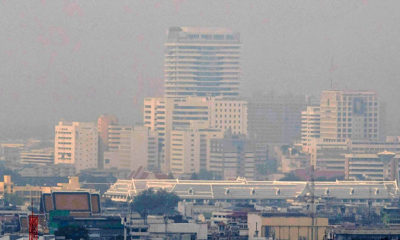 22 areas of Bangkok found with excessive PM2.5 dust in the atmosphere today | The Thaiger