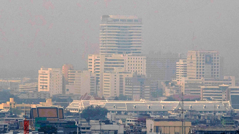 22 areas of Bangkok found with excessive PM2.5 dust in the atmosphere today | Thaiger