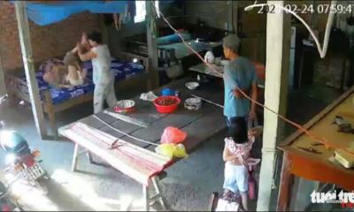 Tiền Giang: Cặp vợ chồng bạo hành mẹ già 88 tuổi | The Thaiger