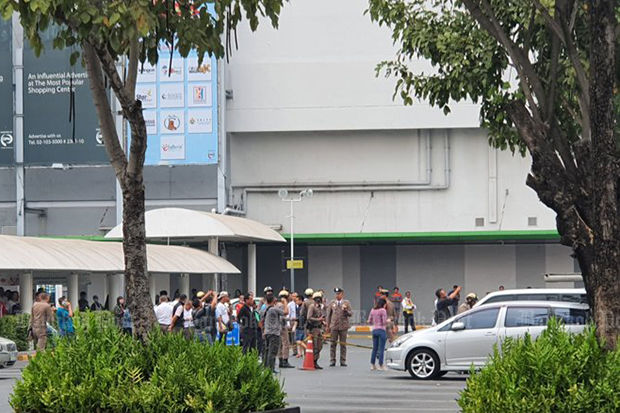 Shots fired in Nontha Buri mall | The Thaiger